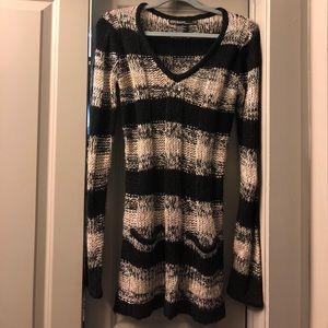Ashley by 26 International Striped Sweater Tunic